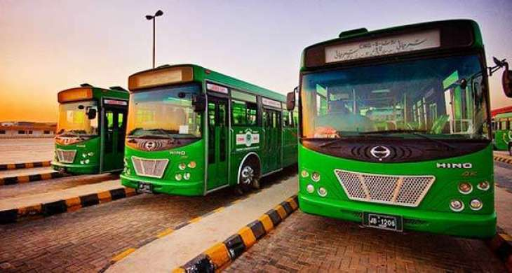 People's Buses hit the roads in Karachi