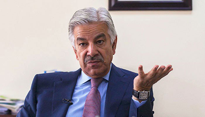 Khawaja Asif to move SC against disqualification verdict today