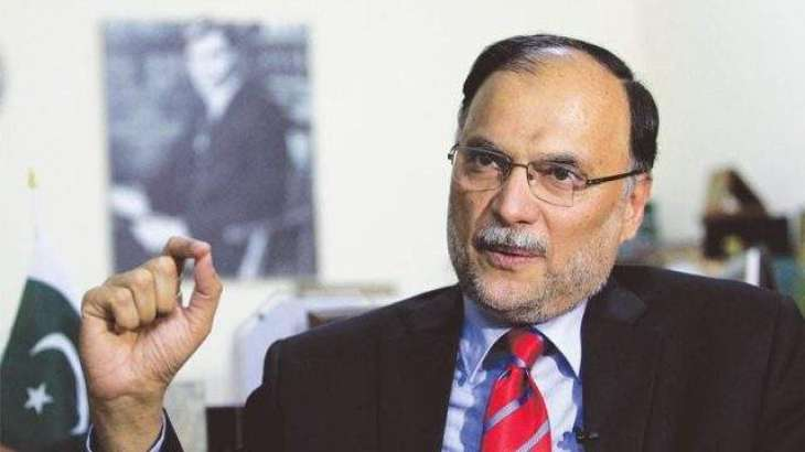 Ahsan Iqbal says Enemies of State Adamant on Sabotaging CPEC