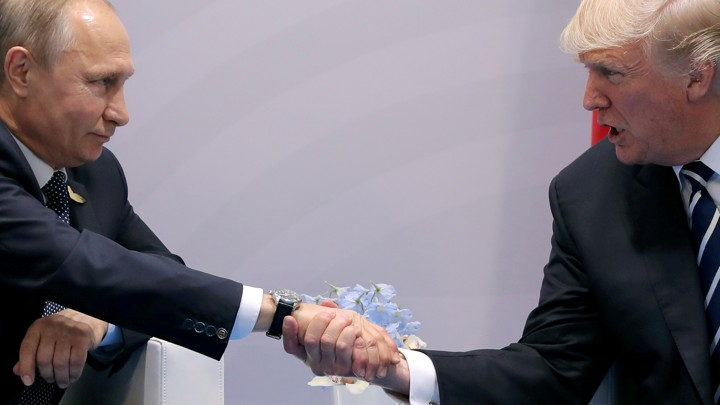 Trump and Putin held press conference after meeting in Helsinki