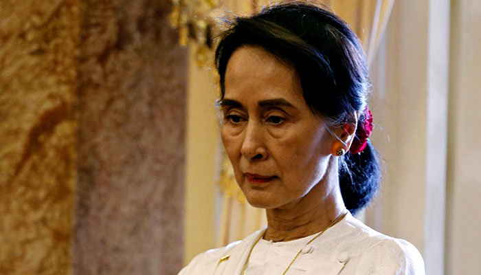 Aung San Suu Kyi becomes first Canadian stripped of honorary citizenship