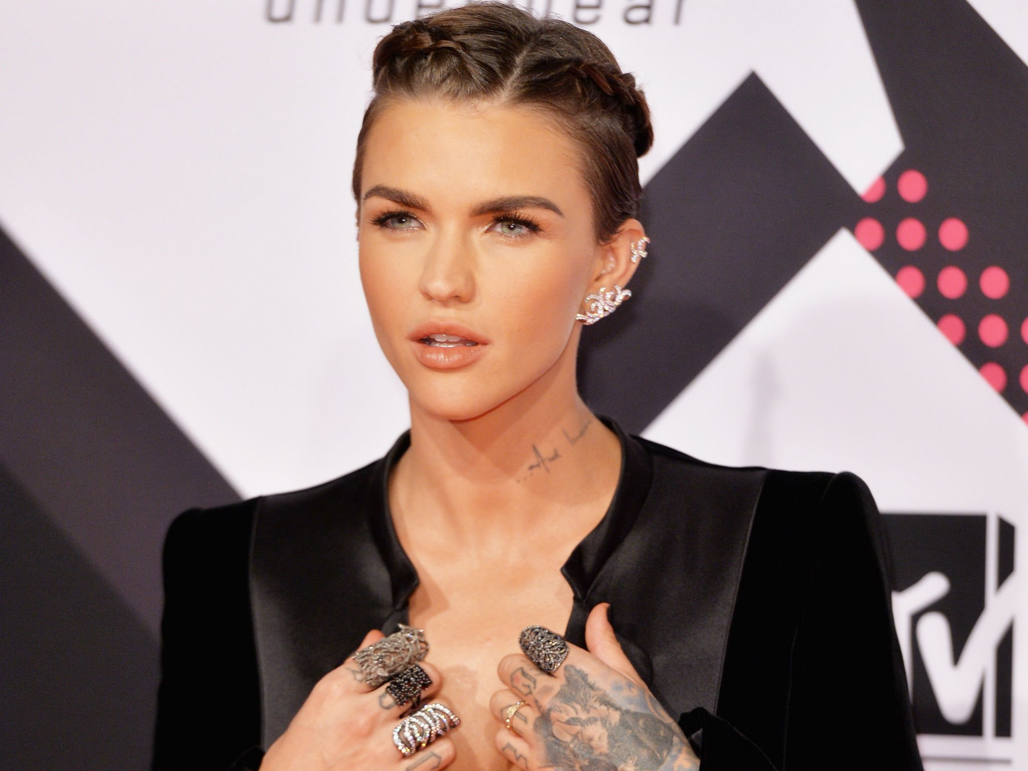 Celebrity Ruby Rose naked (86 photos), Topless