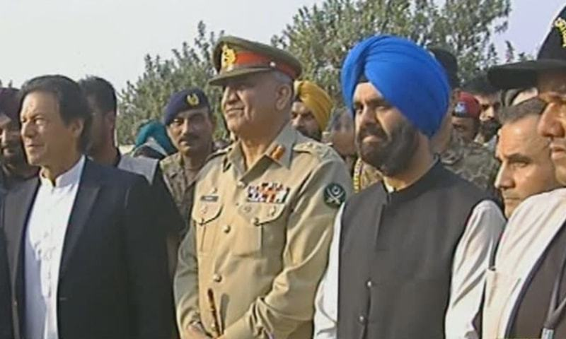 Pakistan and India begin construction of 'corridor of peace'