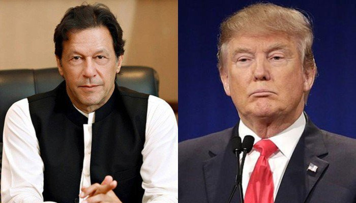 Trump asks Pakistan's Khan to help with Taliban talks following verbal spat""