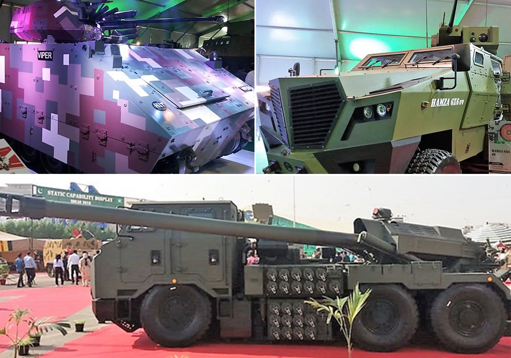 Pakistan S Mighty Weapons On Display At Ideas 2018