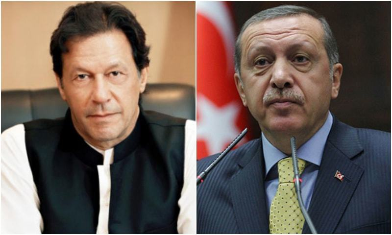 PM Imran, President Erdogan discuss issues of mutual interest