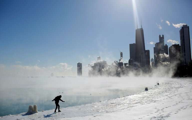 Sub-zero cold spell in US Midwest easing