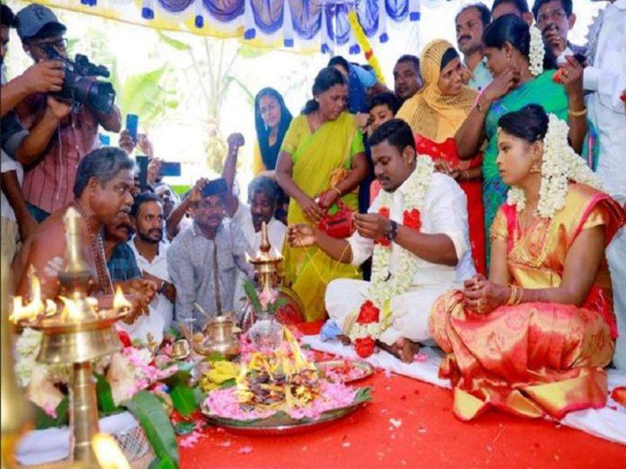 Kerala Mosque Hindu wedding