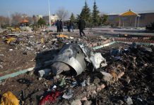 Ukraine Planer Crash Iran