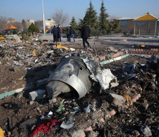 Ukraine Planer Crash Iran