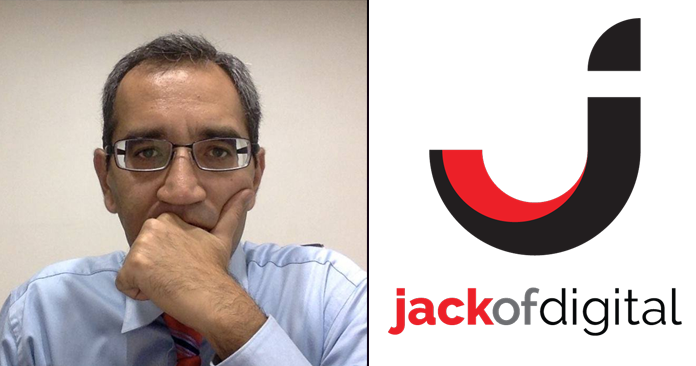 Faisal Sheikh, CEO of Jack of Digital