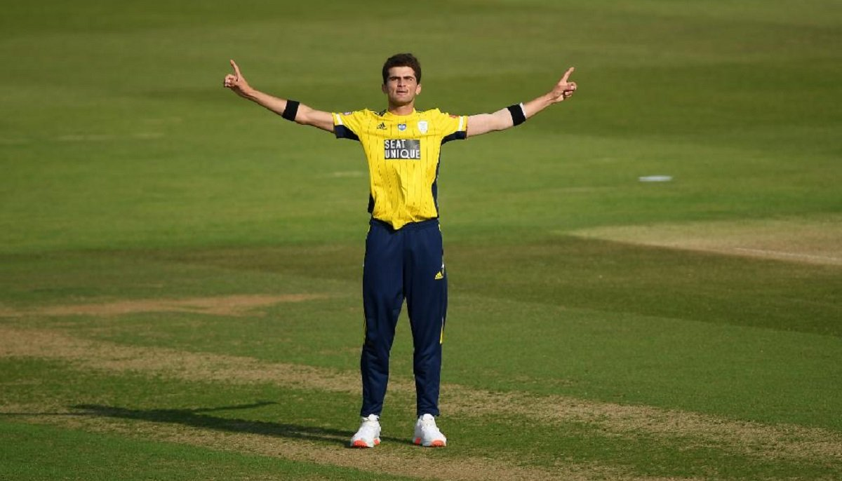 Shaheen Afridi Picks Four Wickets In Four Balls During T20 Blast