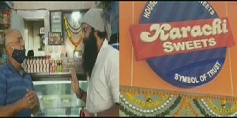Karachi Sweets: Shiv Sena threatens owner to remove Karachi from shop's name