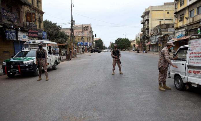 Smart Lockdown in Karachi